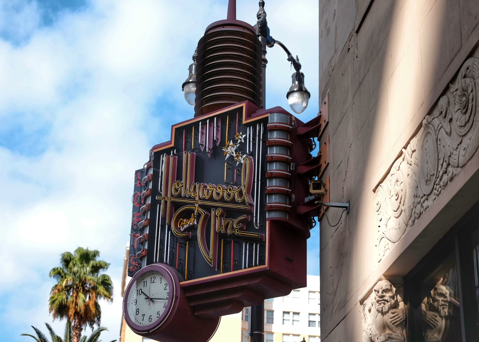 Hollywood and Vine.