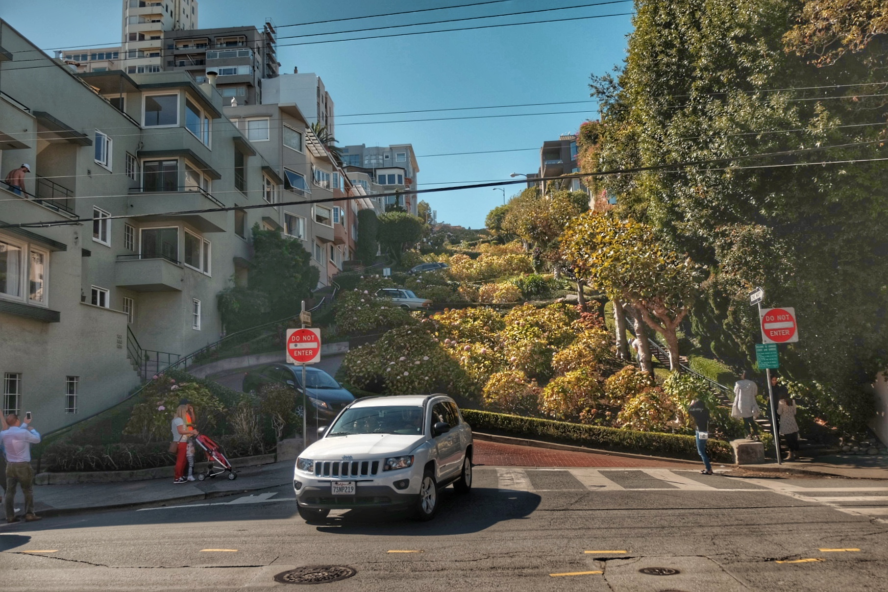 Lombard Street.