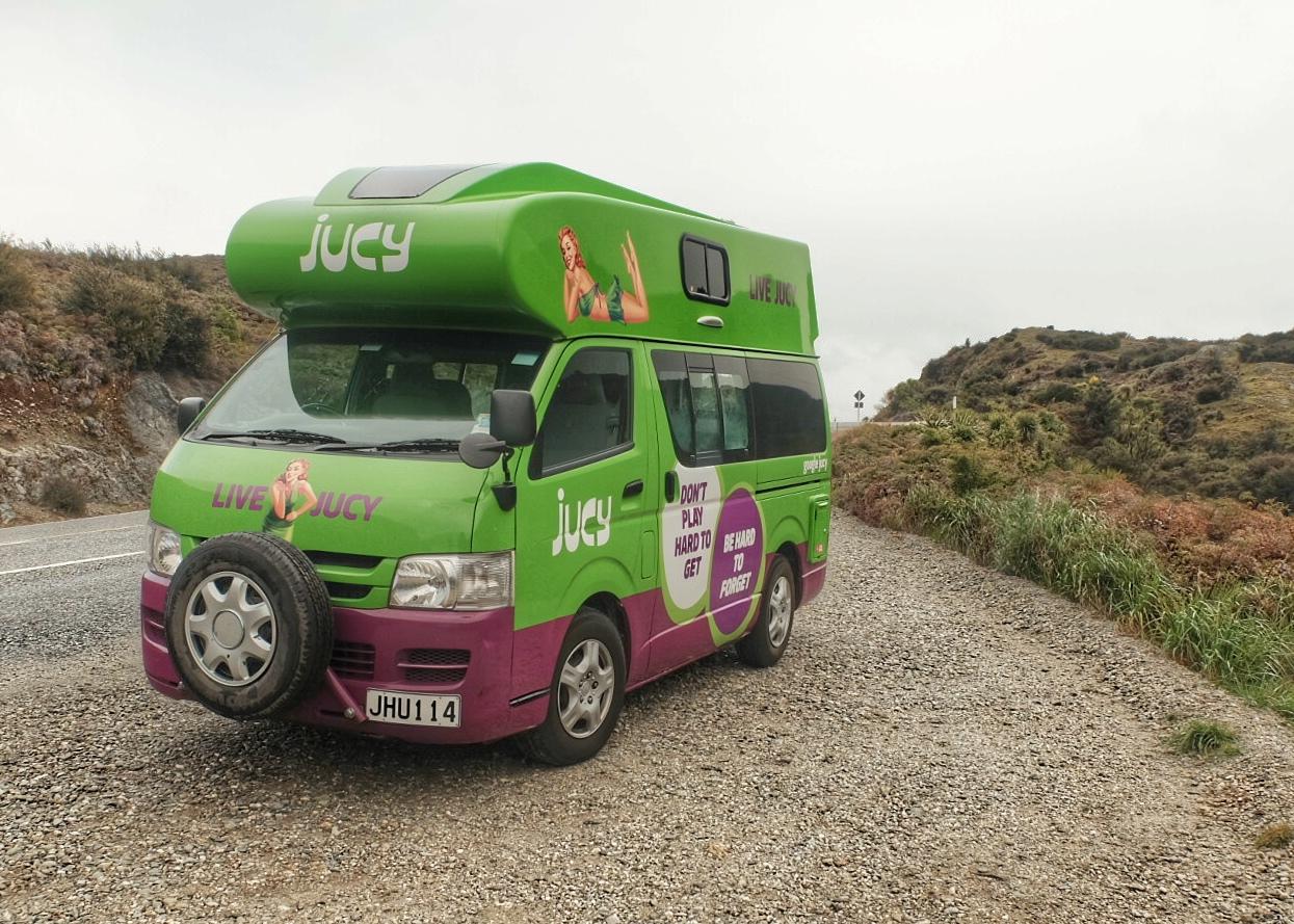 Juicy Camper van