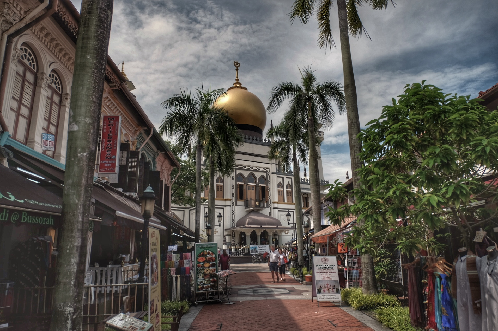 Jalan Sultan mosque.