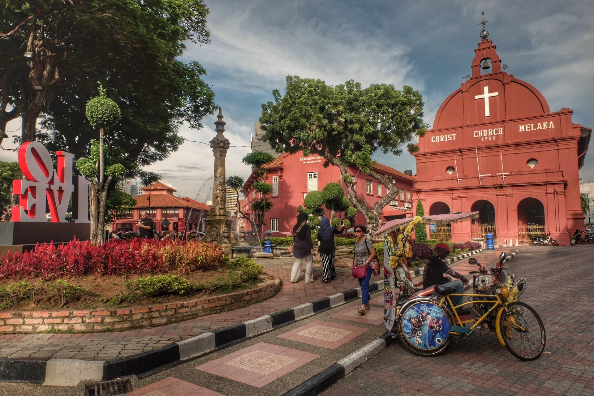 UNESCO heritage city, Melaka.