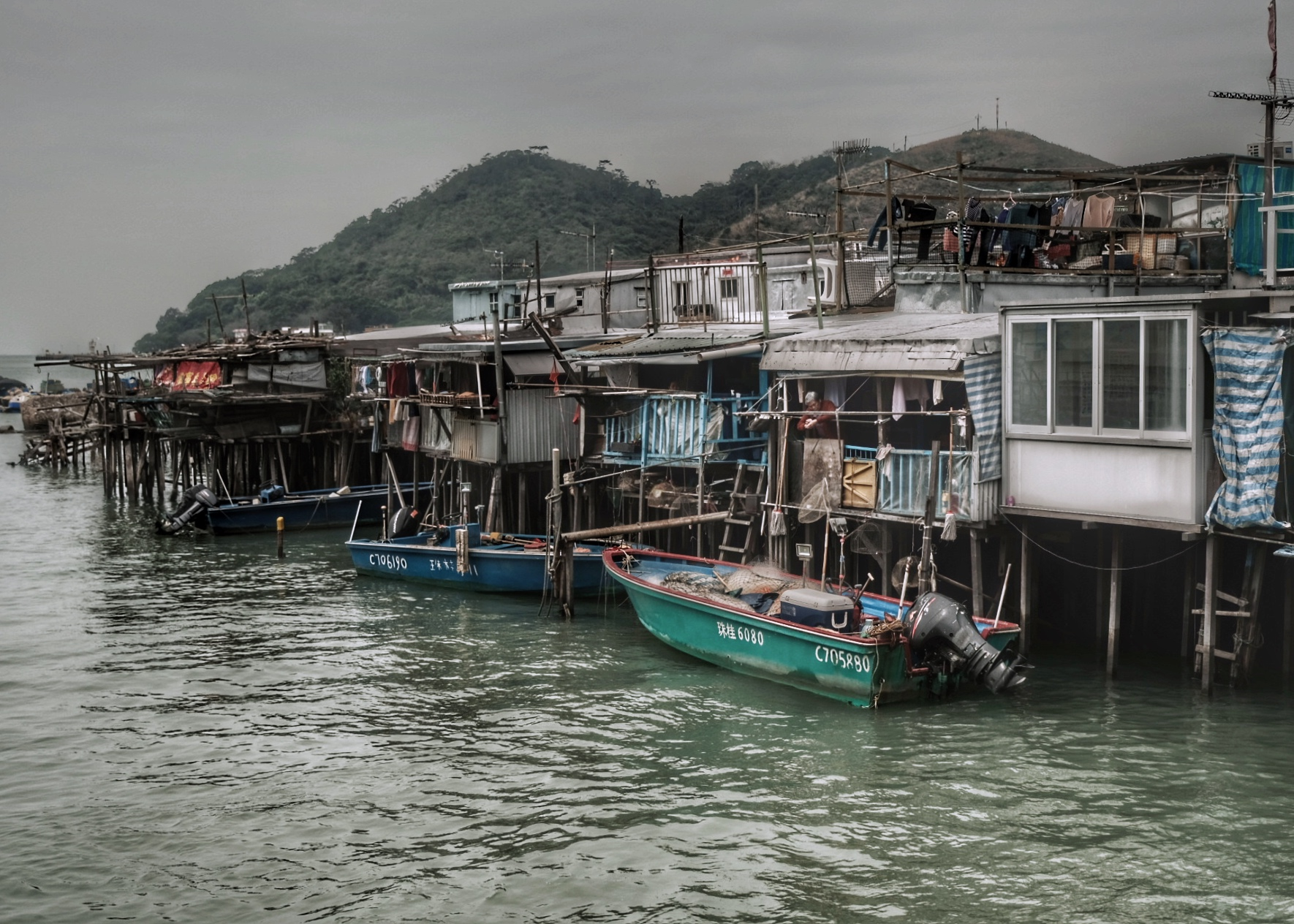 Tai O fishing village.