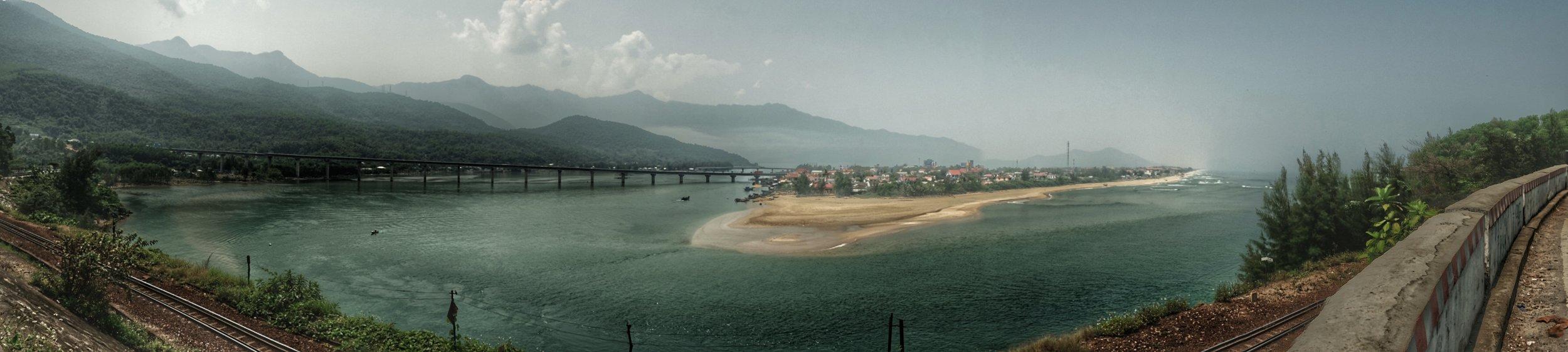 The View fromHải Vân pass.