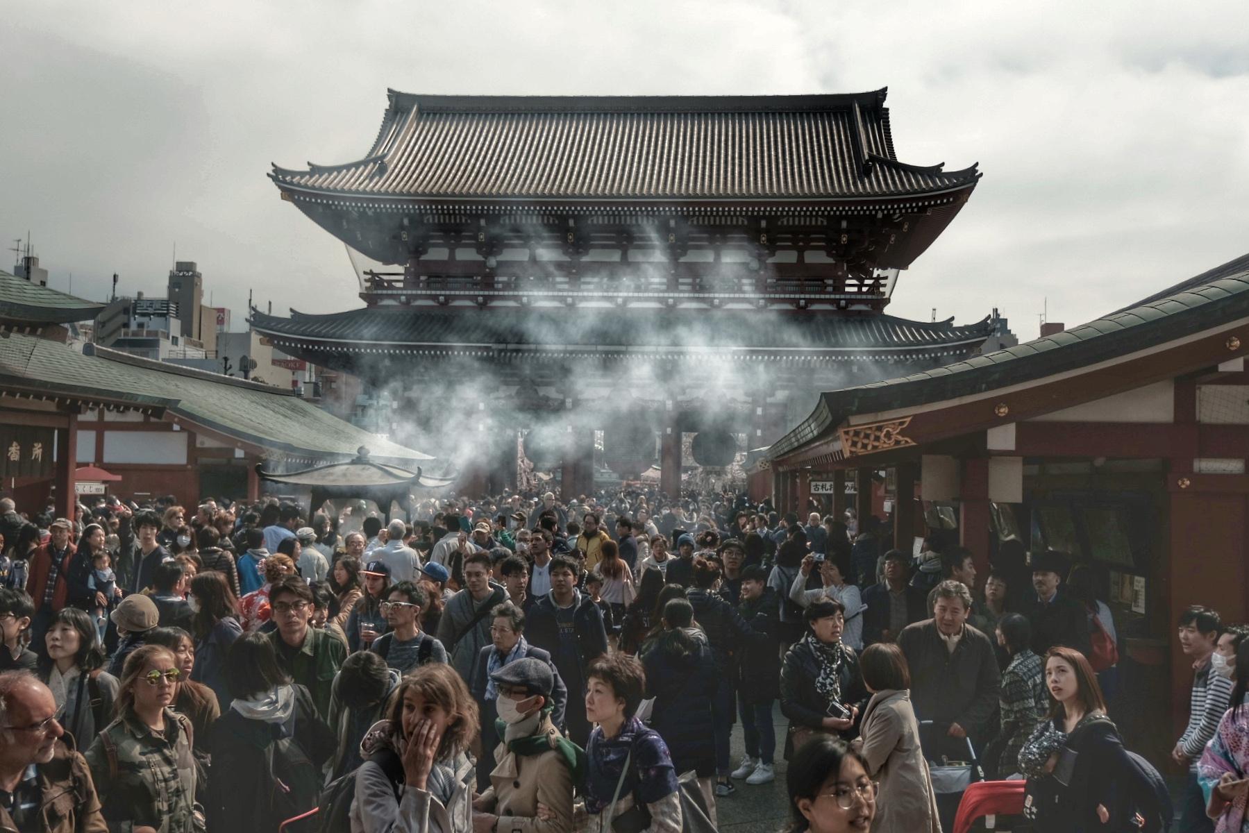 Asakusa Senso Shrine.