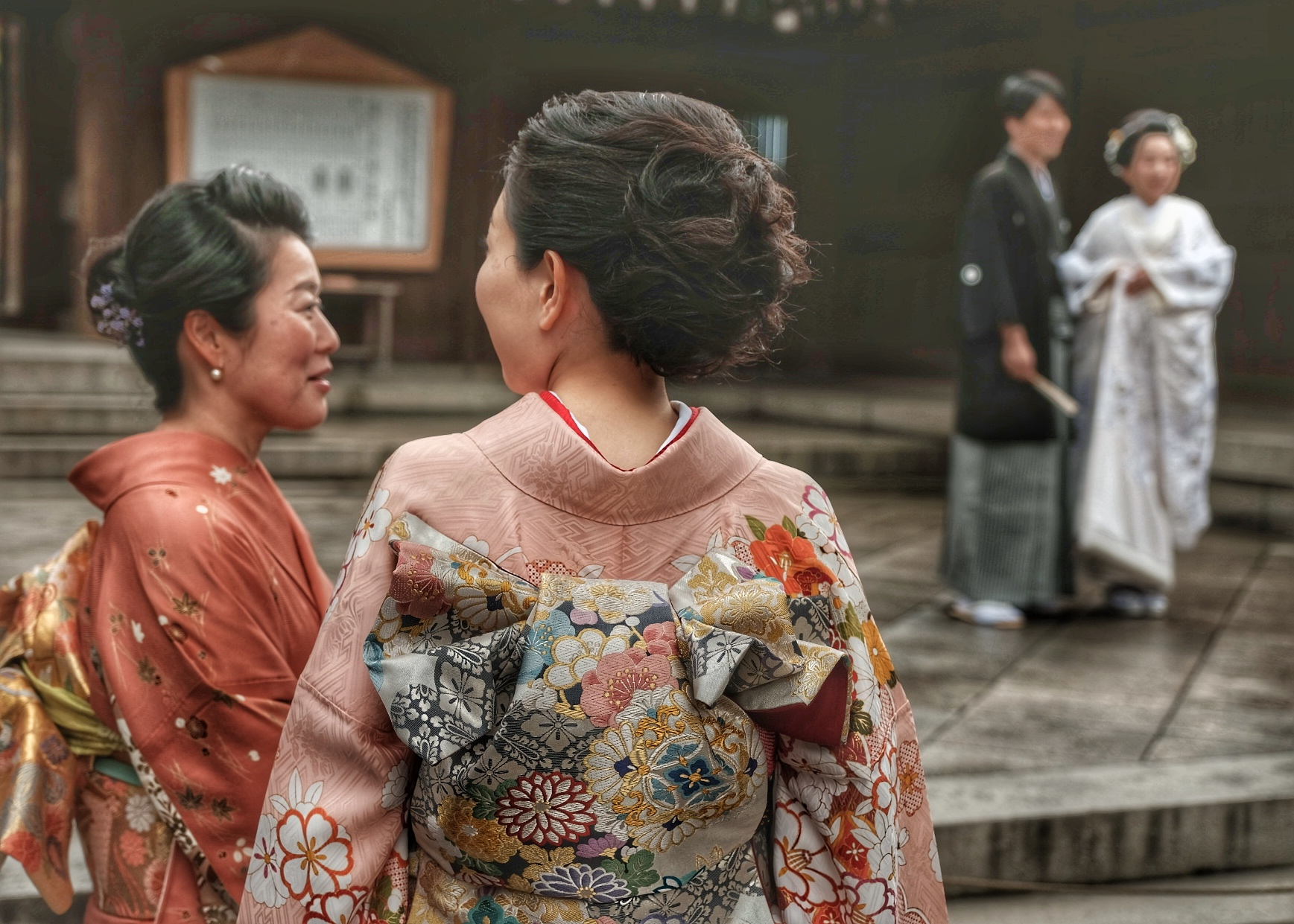 Meiji Jingu Shinto Shrine.