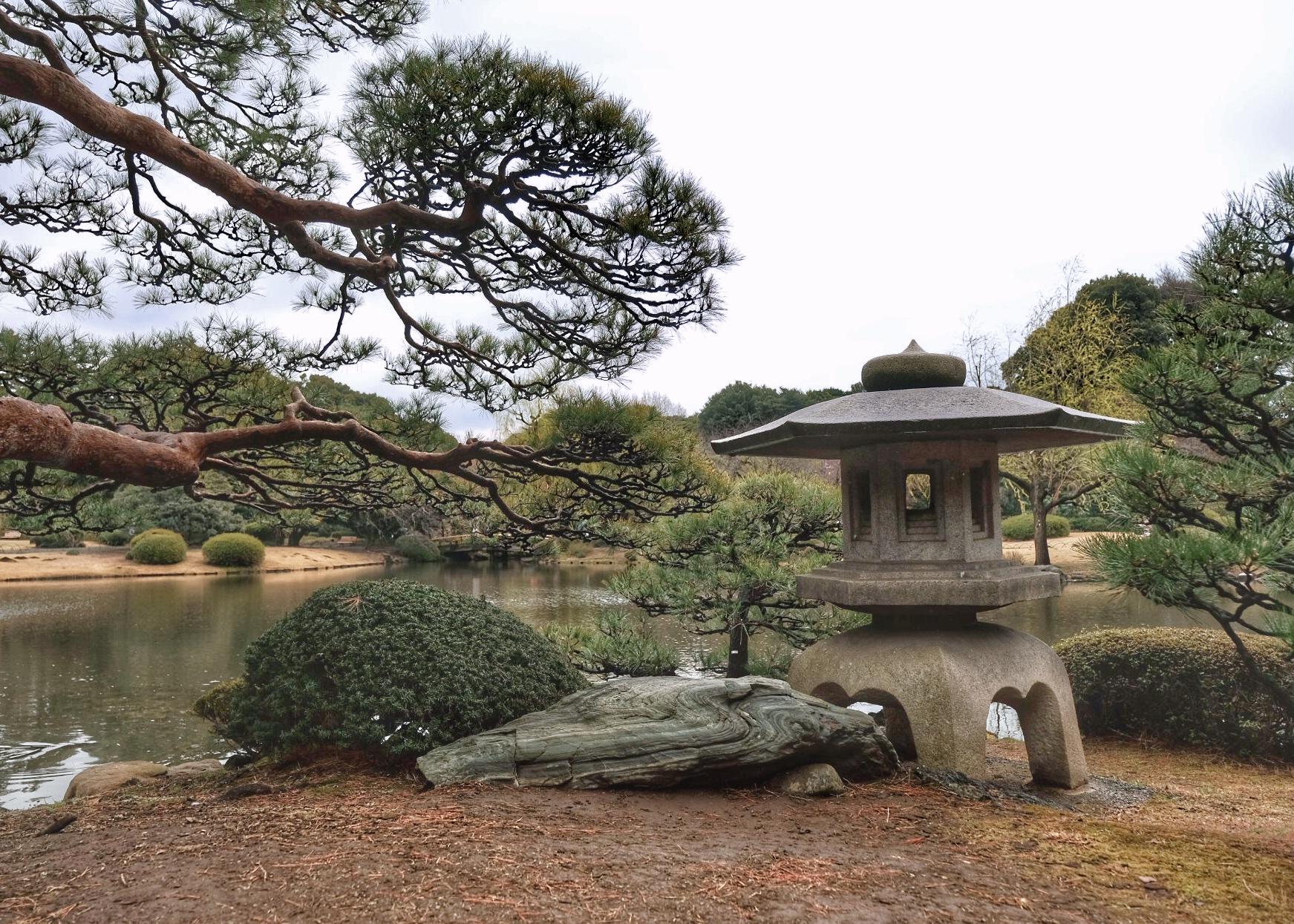 Shinjuku Gyeon national garden.