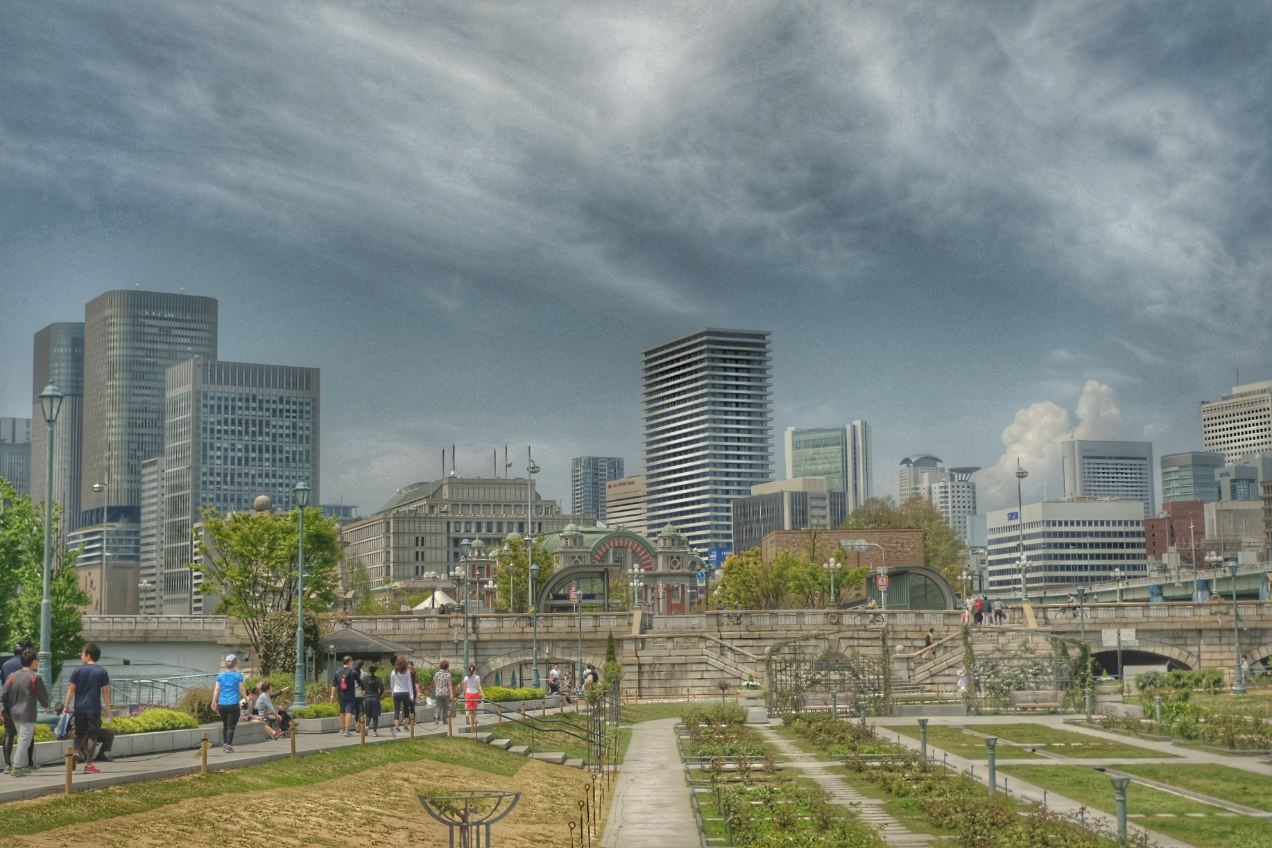 Nakanoshima Park.