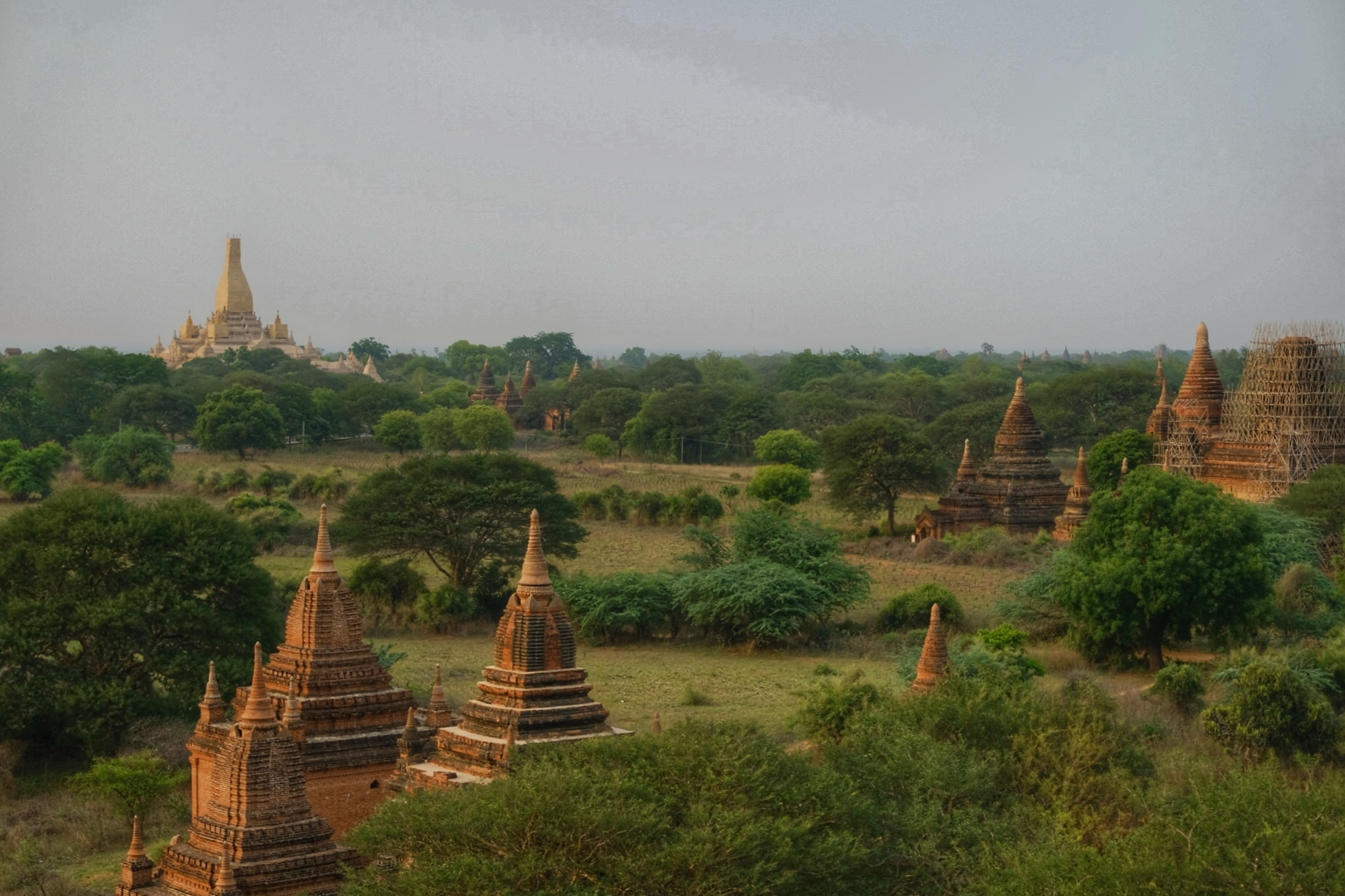 View over Bagan.