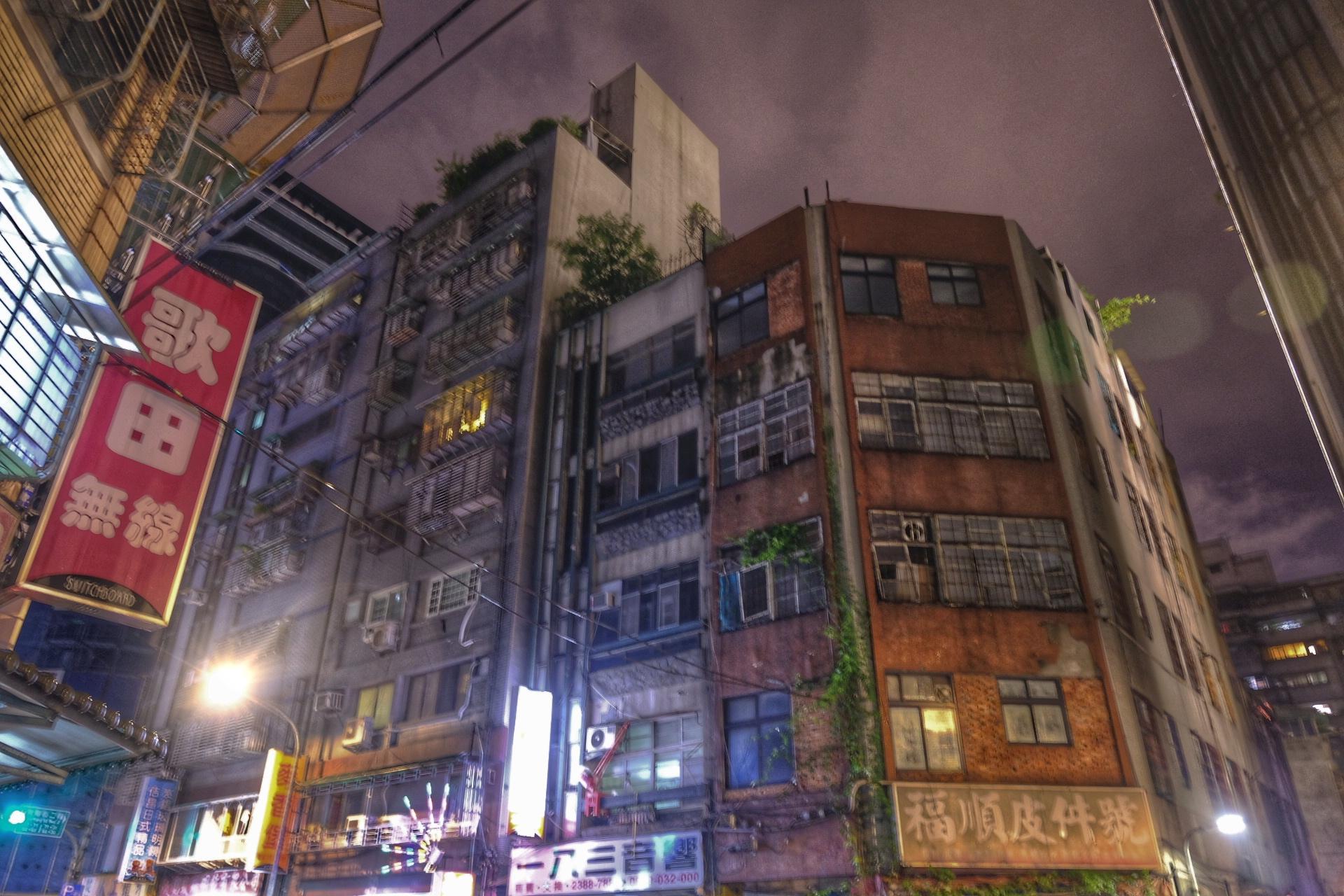 Streets of Taipei.