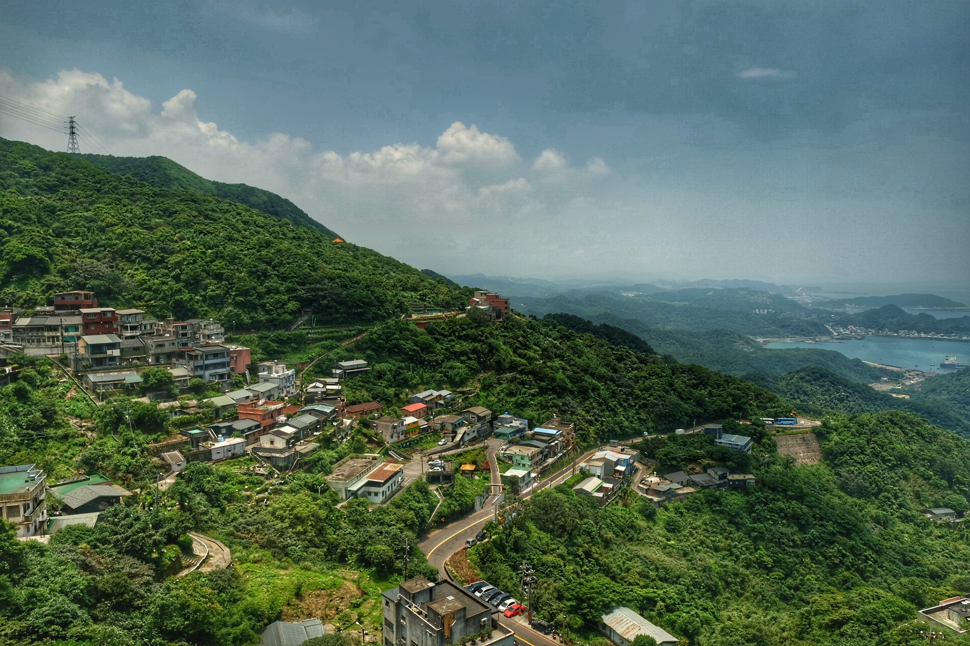 The town of Jiufen.