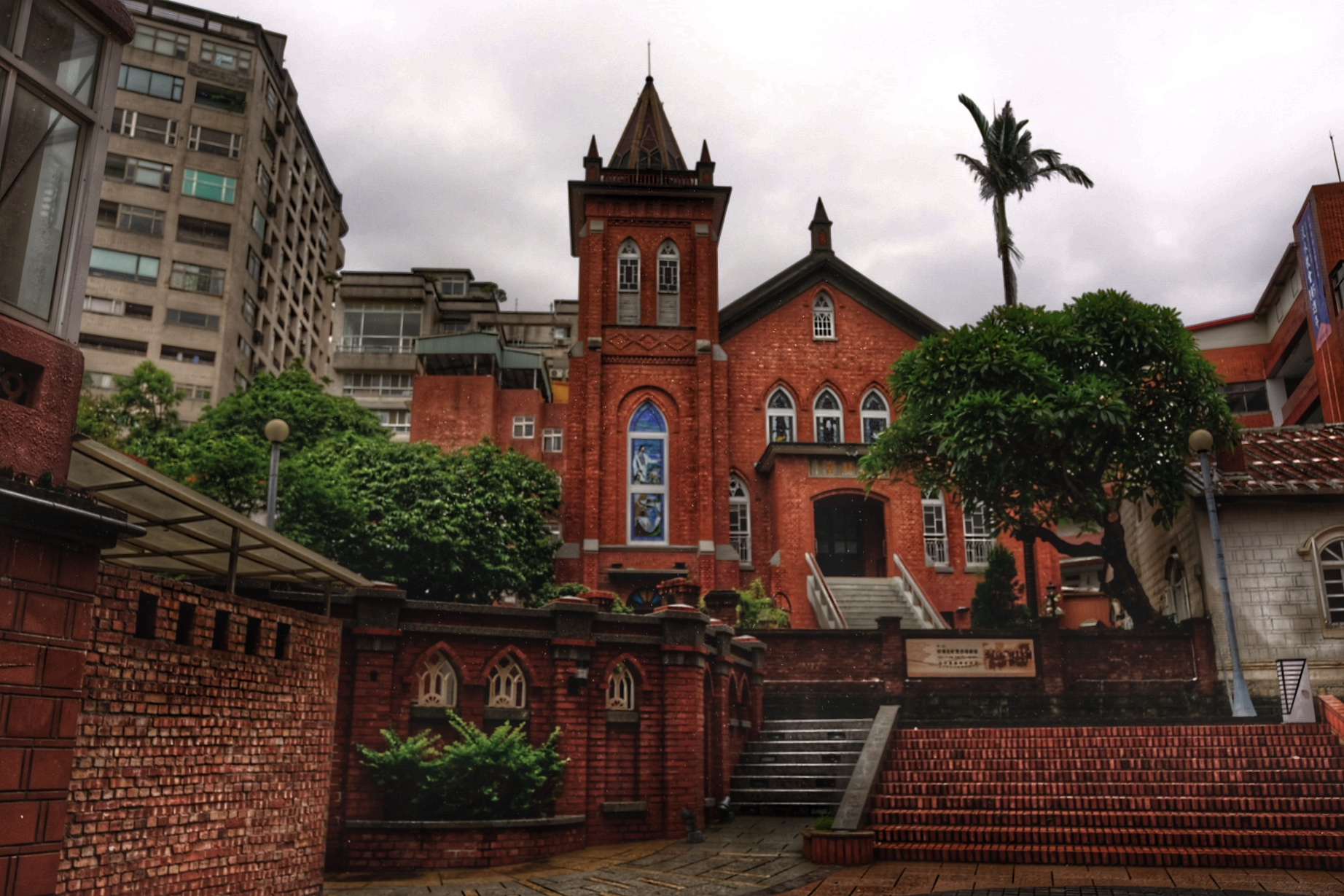 Tamsui church