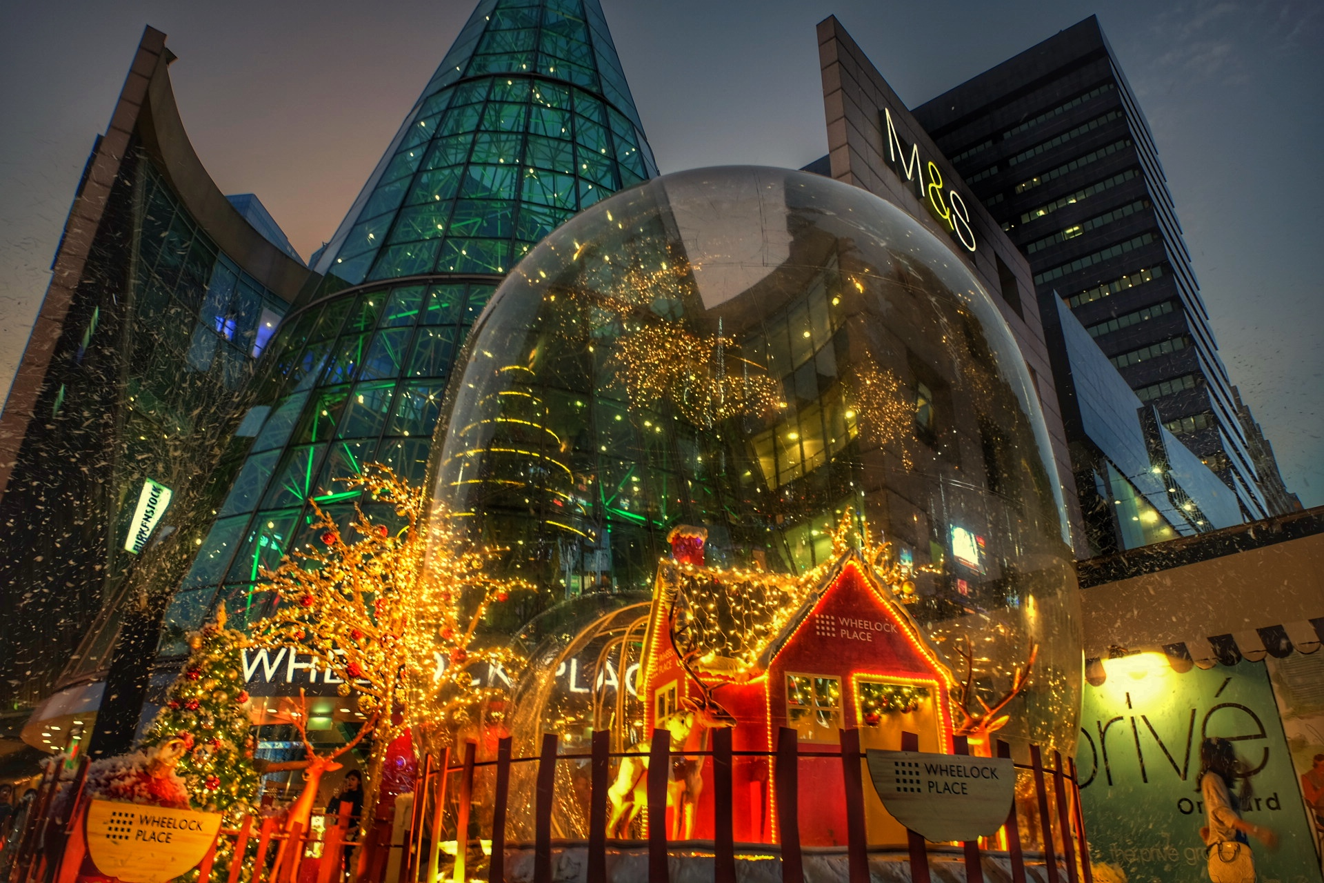 Christmas in Singapore.