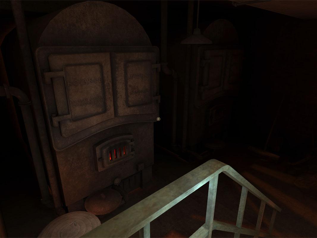 Dead Secret Circle--the furnace
