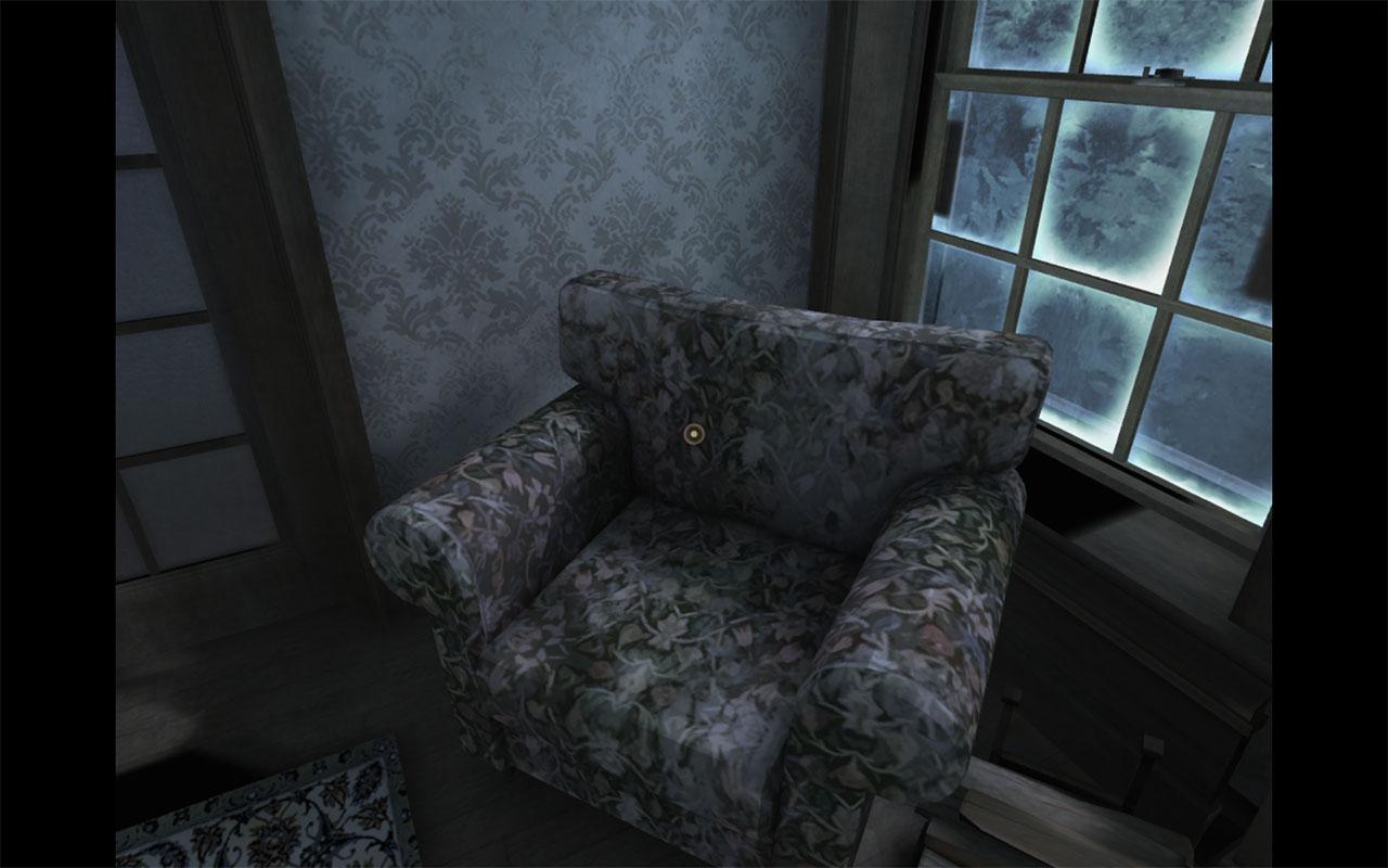 Dead Secret Circle--stuffed chair