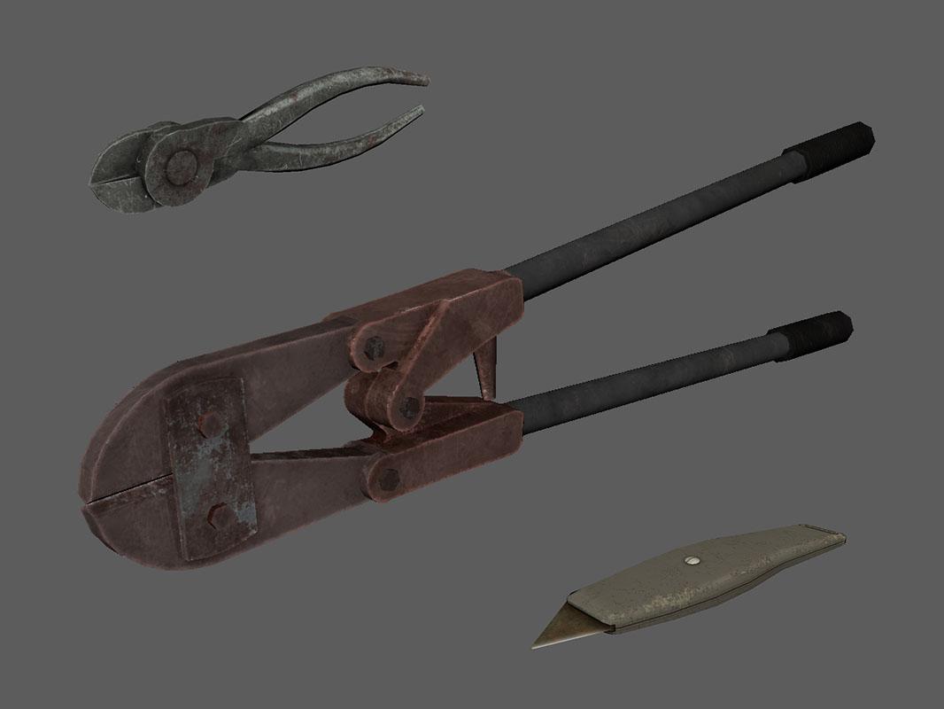 Dead Secret Circle--tools