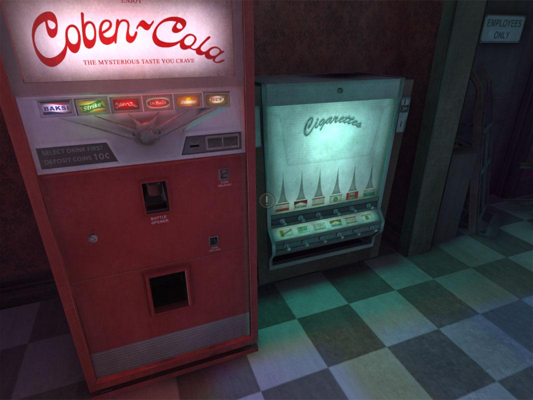 Dead Secret Circle--vending machines
