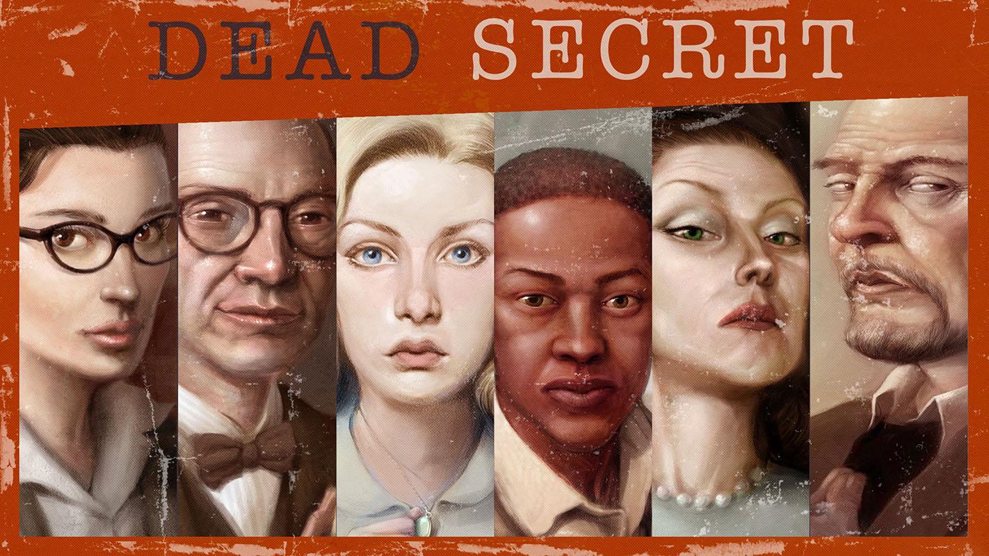 Dead Secret Character Portraits
