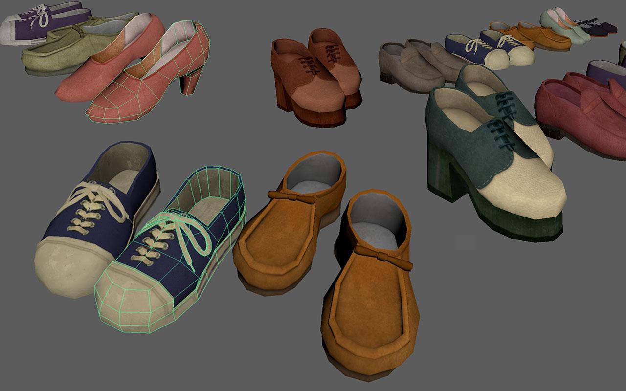 Dead Secret Circle--shoes