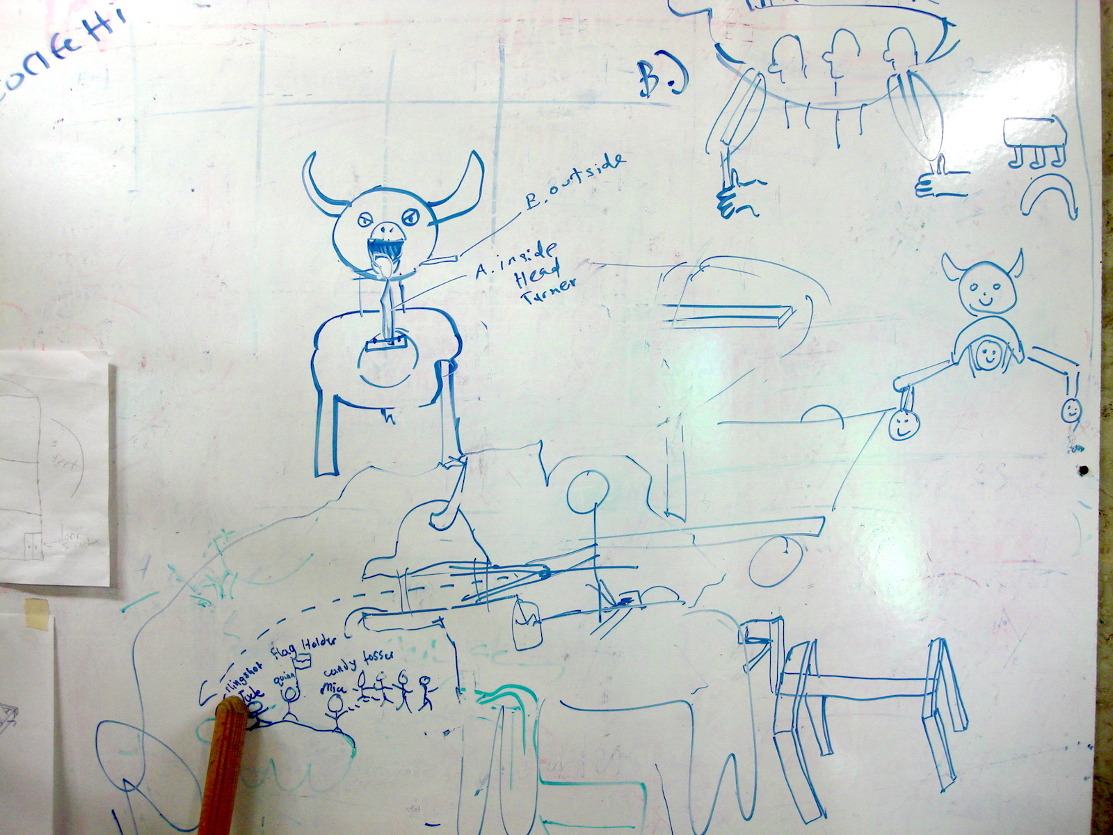 Sketches for cow design
