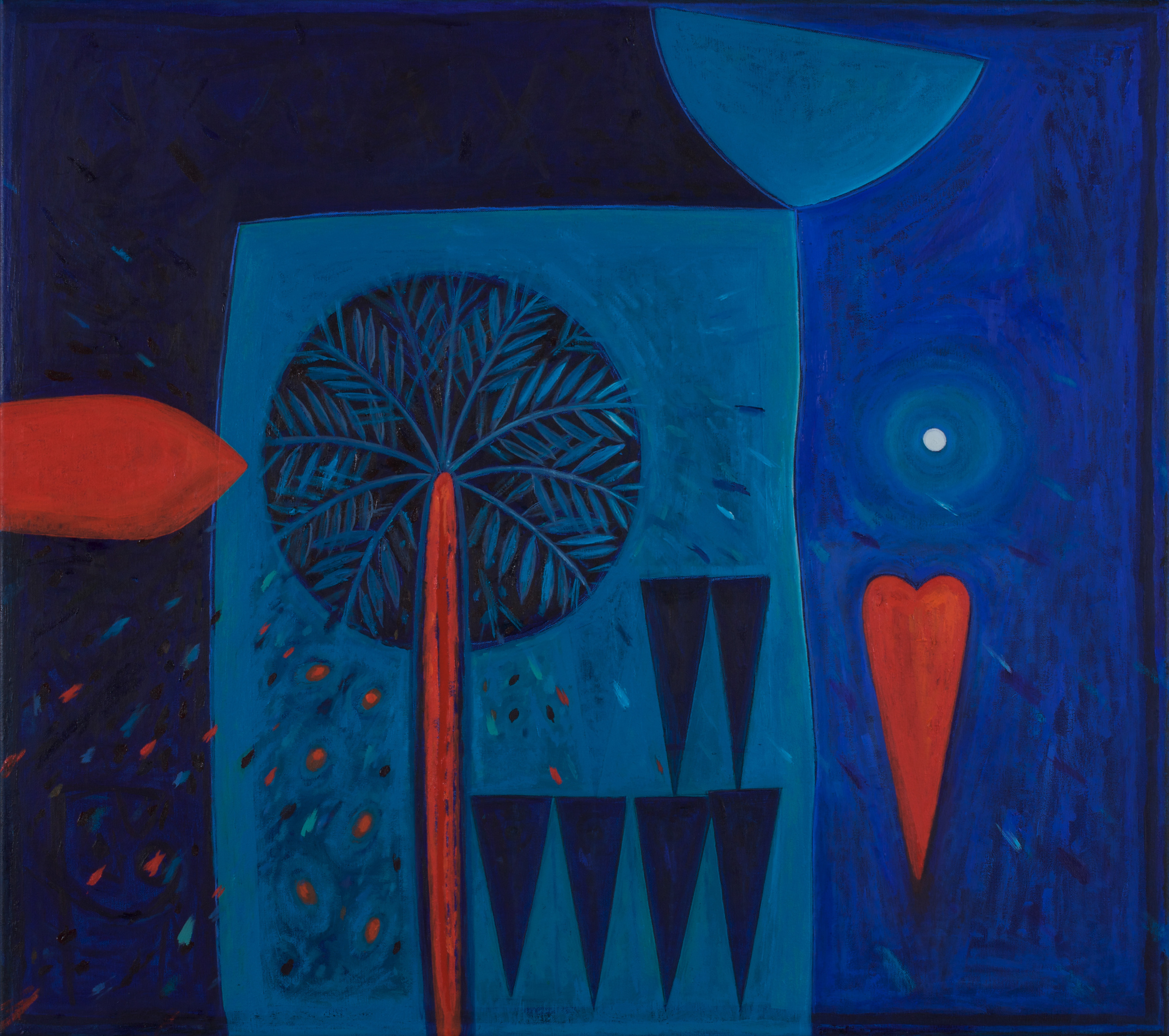 Ishtar  Kites and Shattered Dreams  Oil on canvas 80x90cm 2008  Hussain Ali Harba Collection  Italy