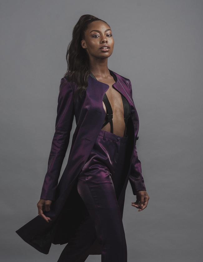 Acacia McBride, Model