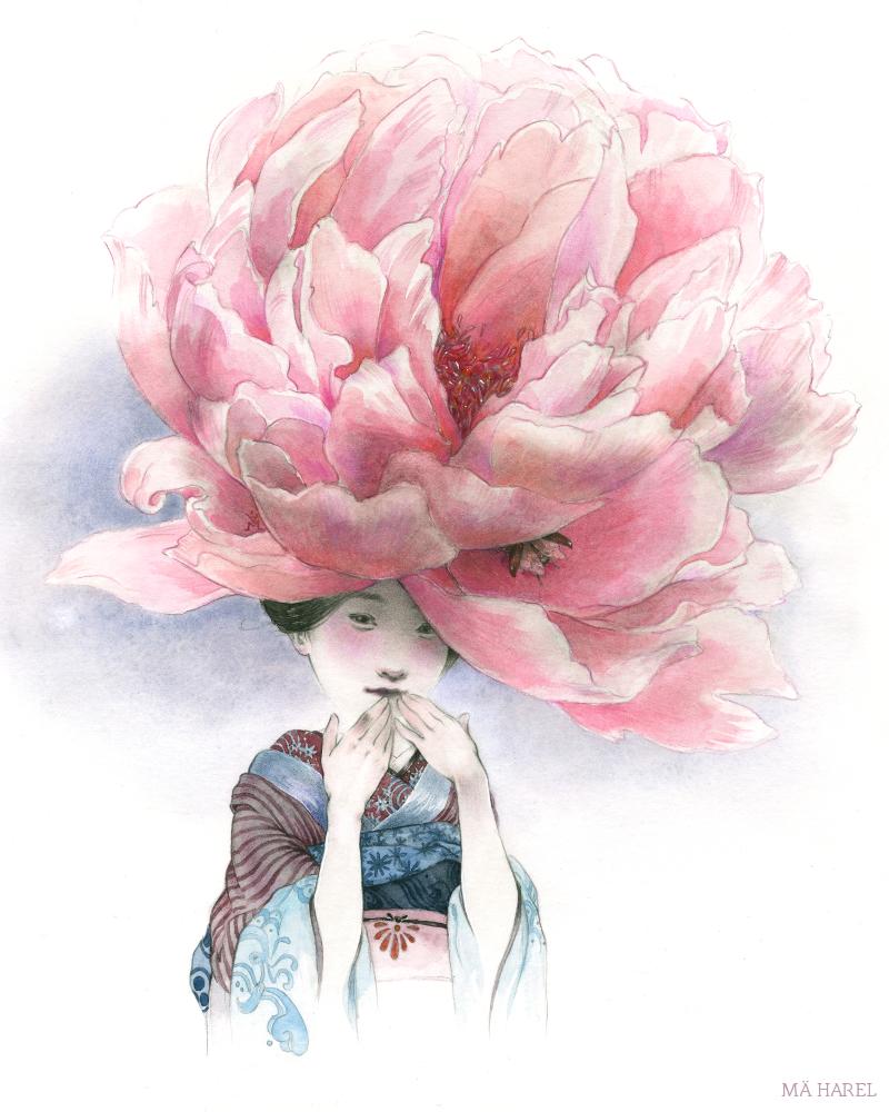 Kibo , bloom