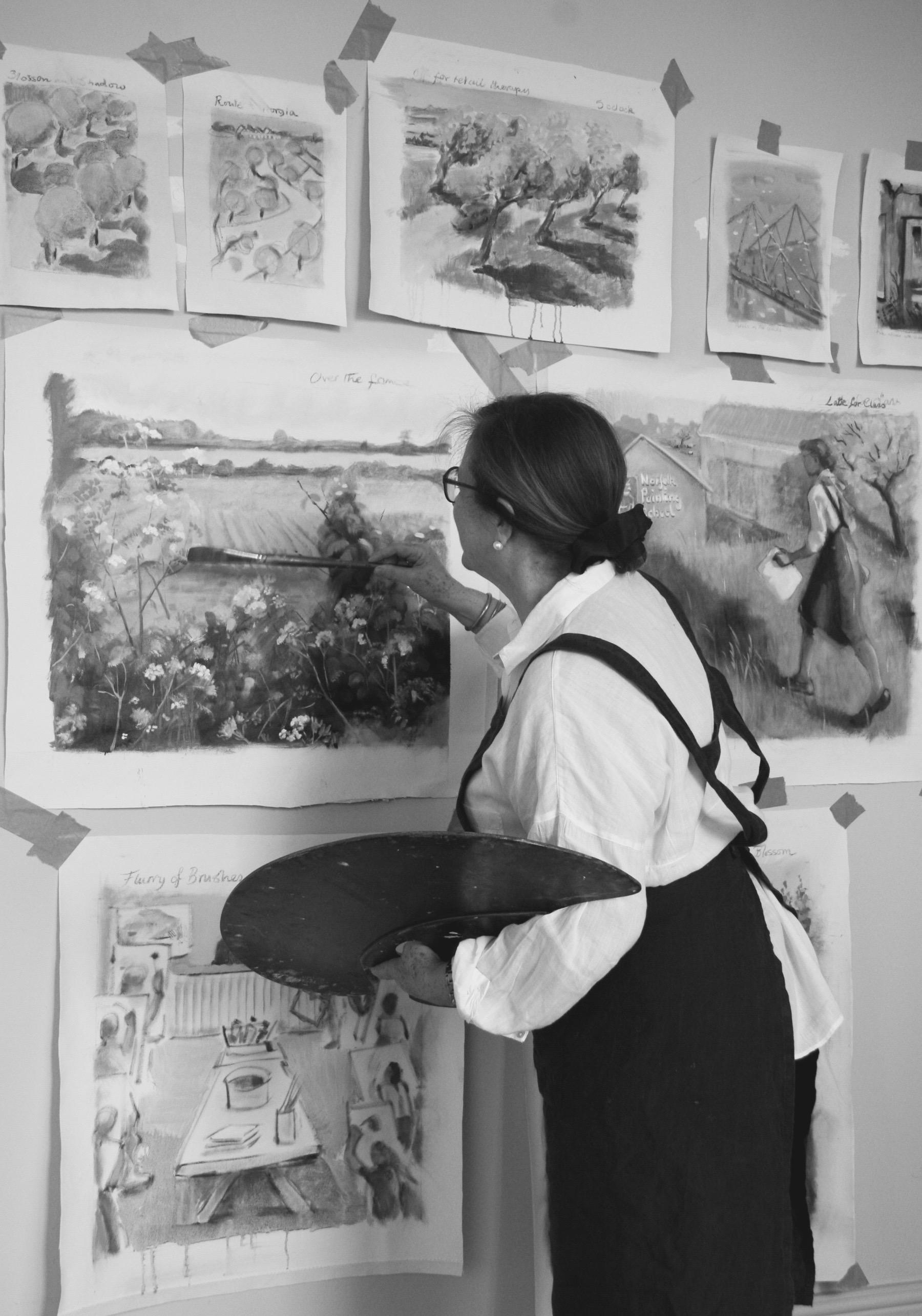 Claire in the Studio 2017