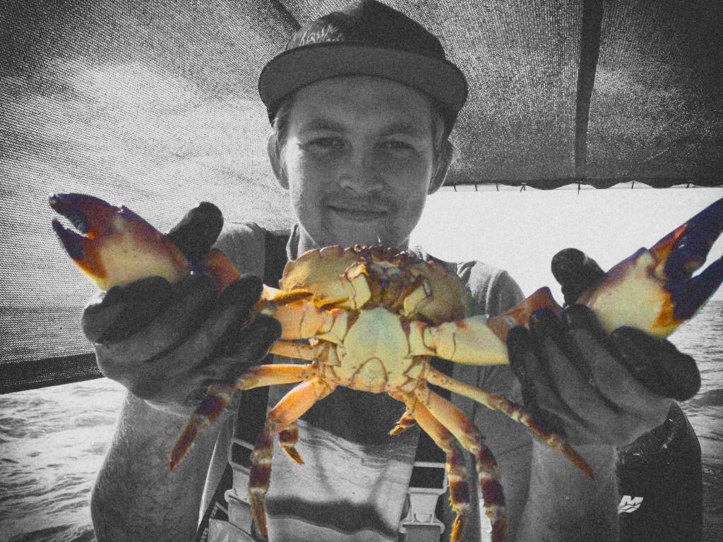 Alex Deckhand with Stone Crab.jpg