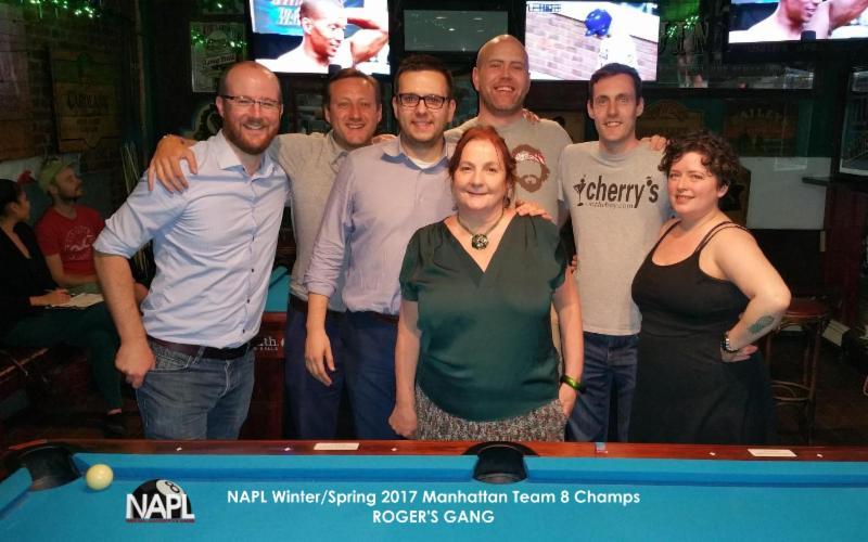 L-R: Paul MacFarland, Tony Semar, Justin Skeels, Dympna McDonald (Captain), Paul Galligan, Ray Walsh, Kali Kali and Ben Smith (not pictured).