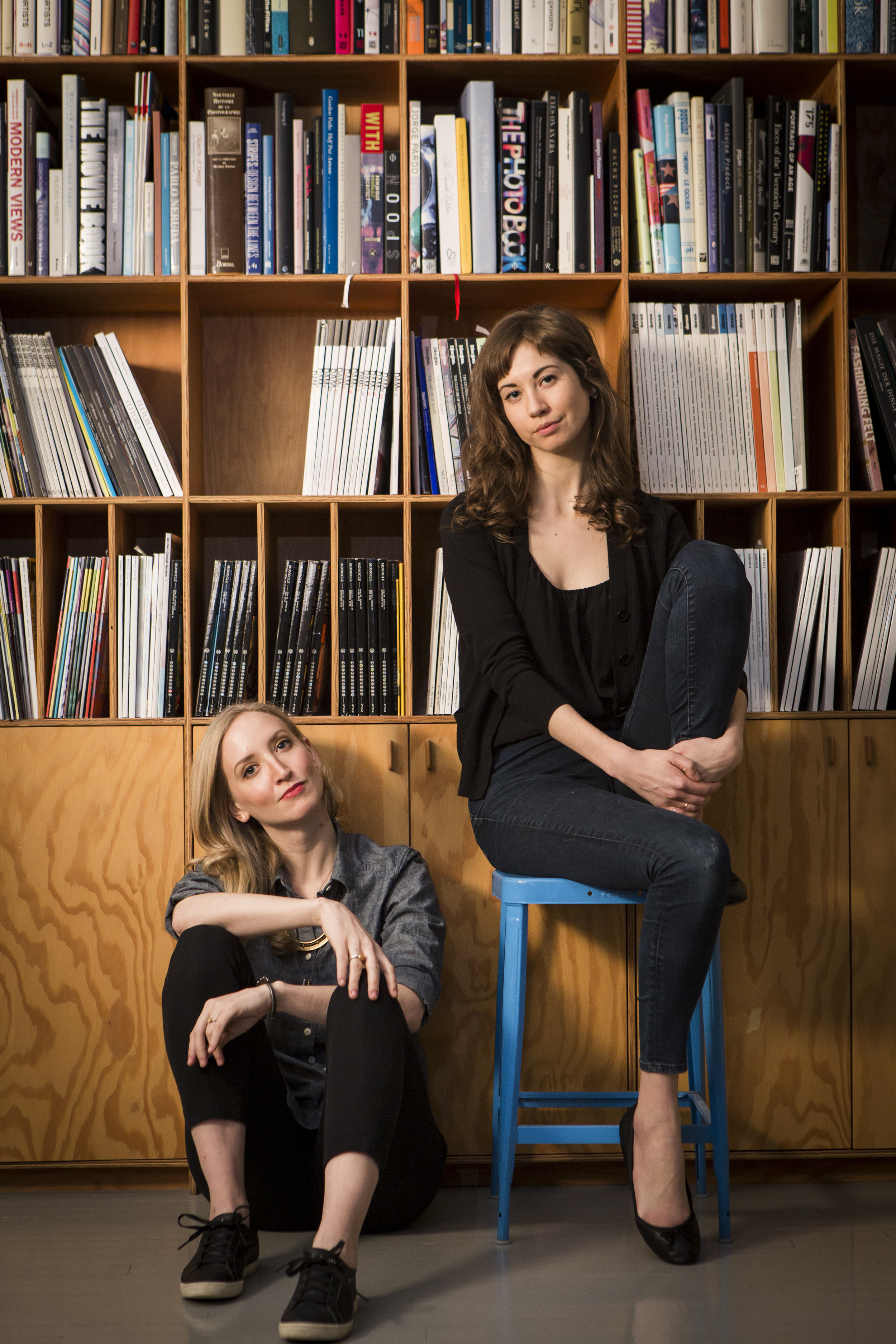 Producers Victoria Frings and Anastasia Olowin