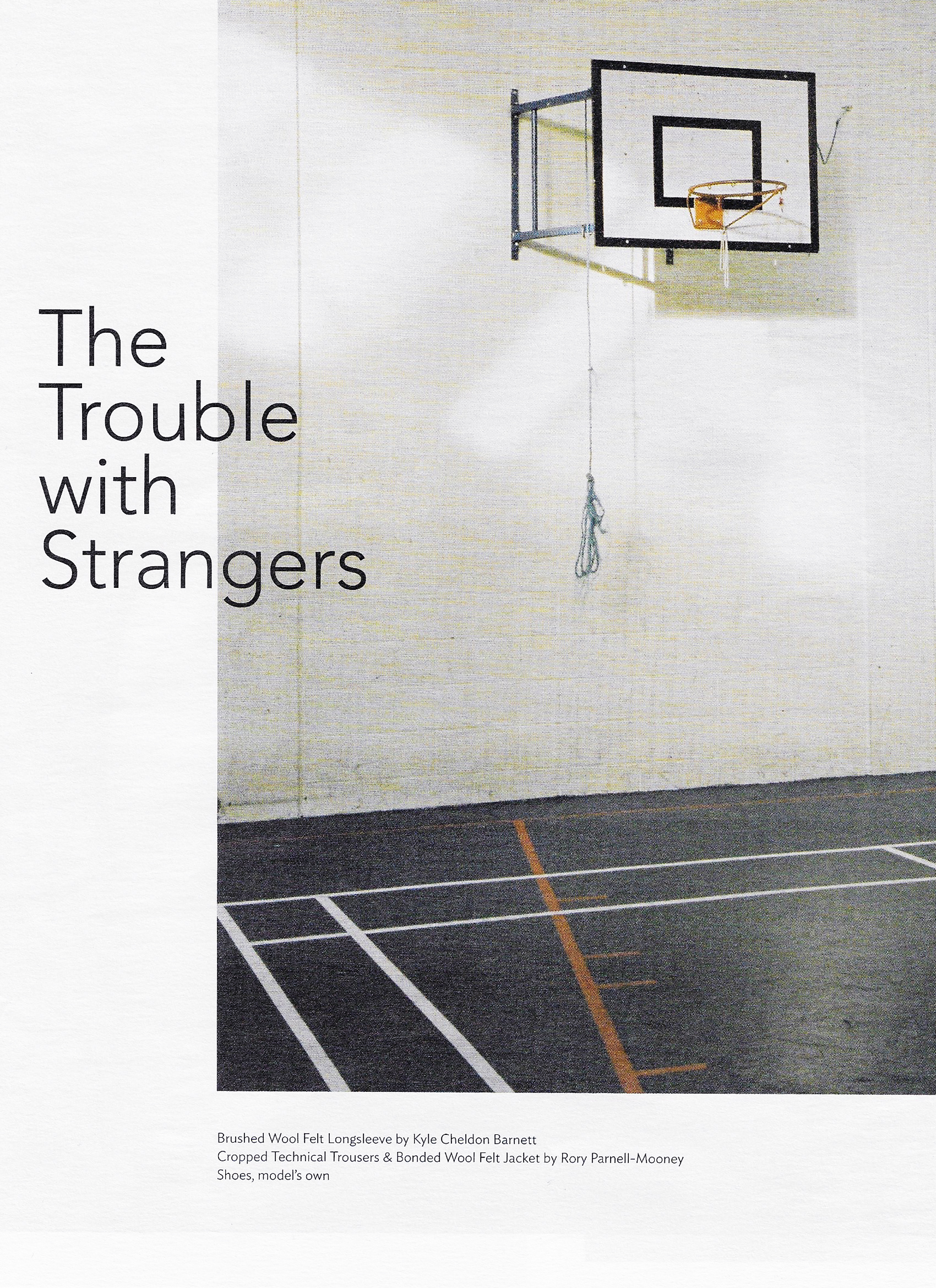 TOTALLY DUBLIN / THE TROUBLE WITH STRANGERS
