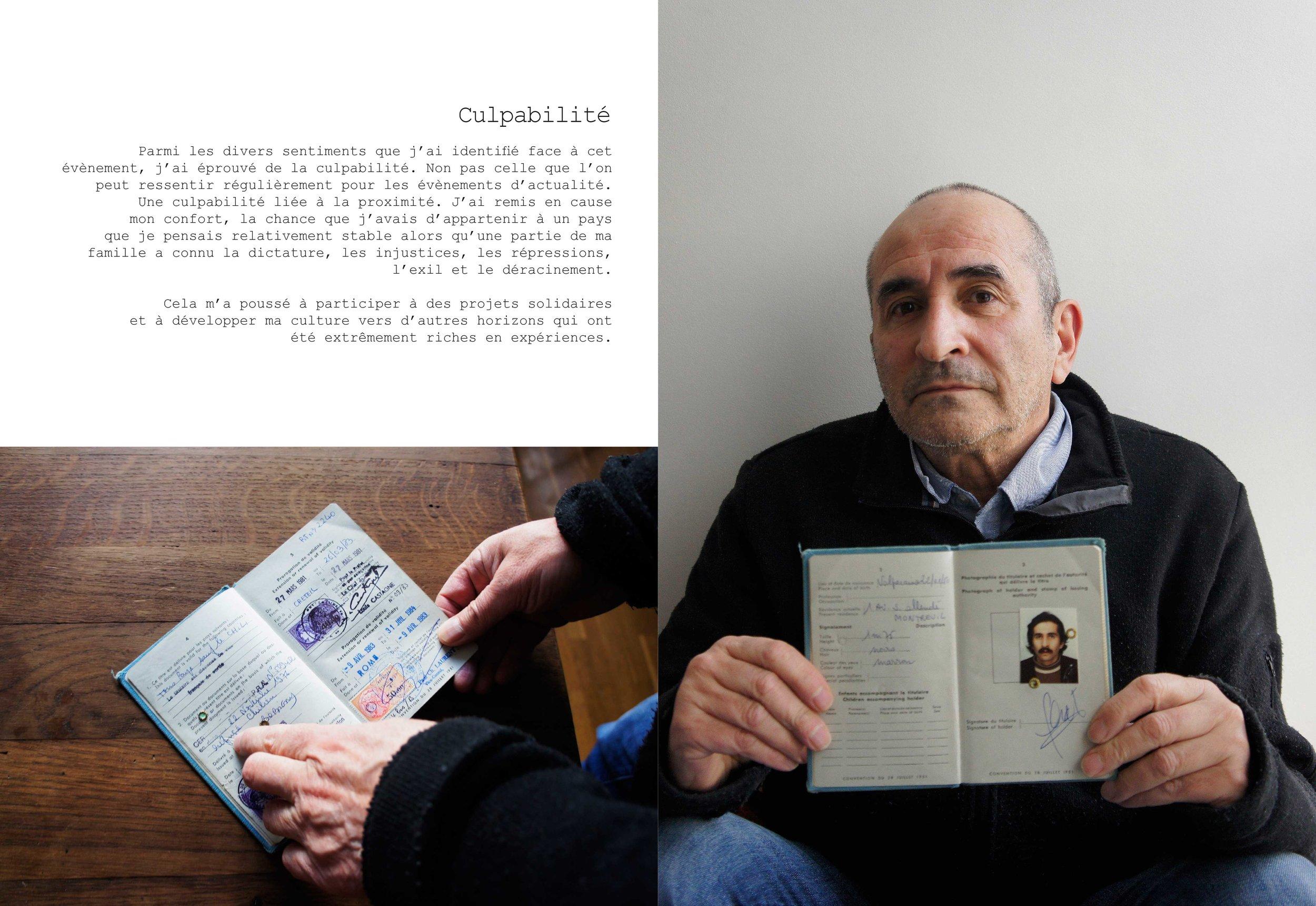 © Constance Fermandois : J'ai appris que mon père était un exilé politique.