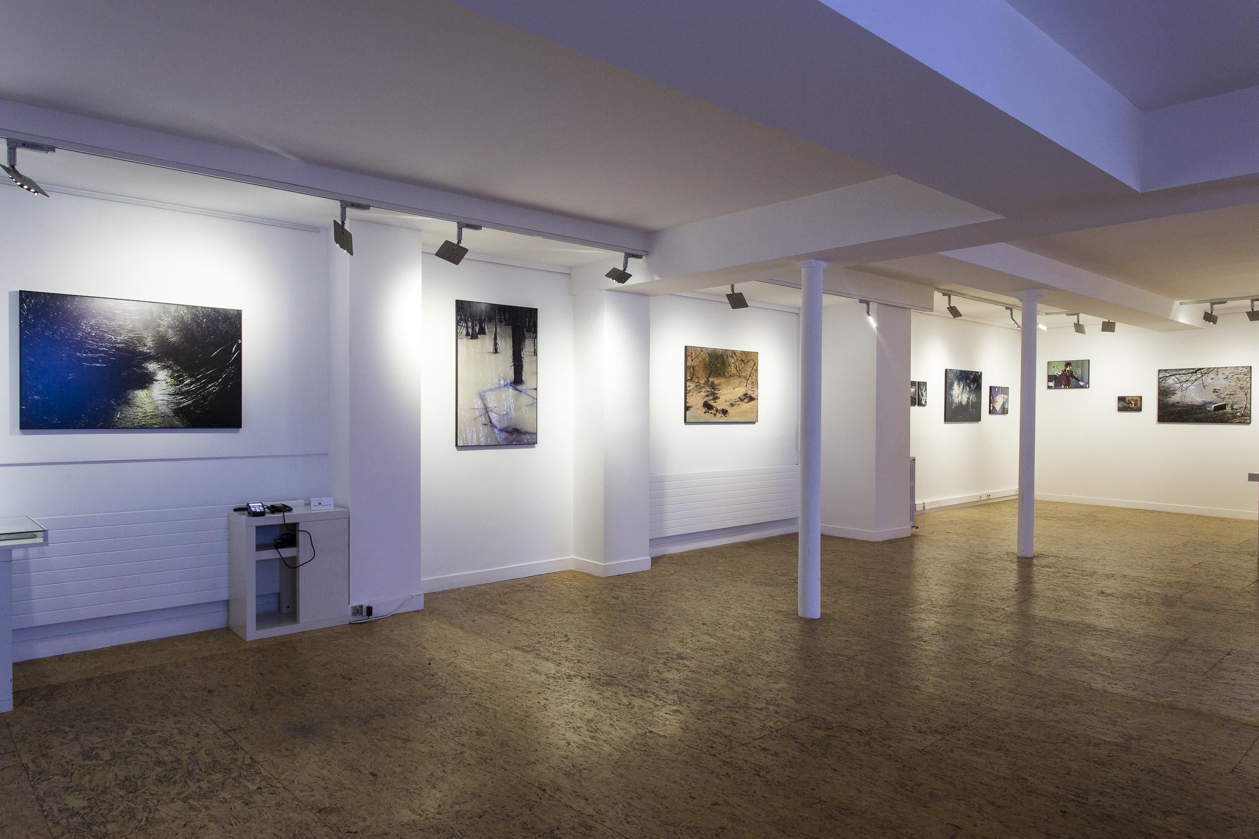 Trouer l'opacité, Galerie VU', Paris, 2016