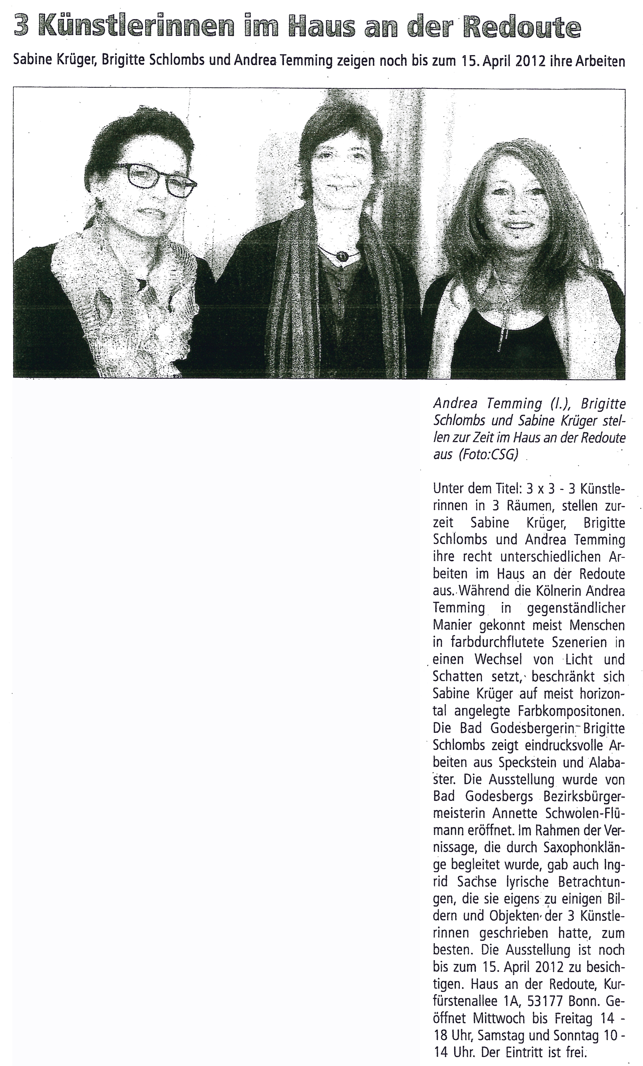 Mitteilungsblatt Bad Godelsberg, 31. März 2012