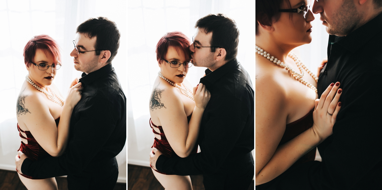 Jacksonville Boudoir Photographer | Couples Boudoir Photography | Rebel Intimate Boudoir Studio