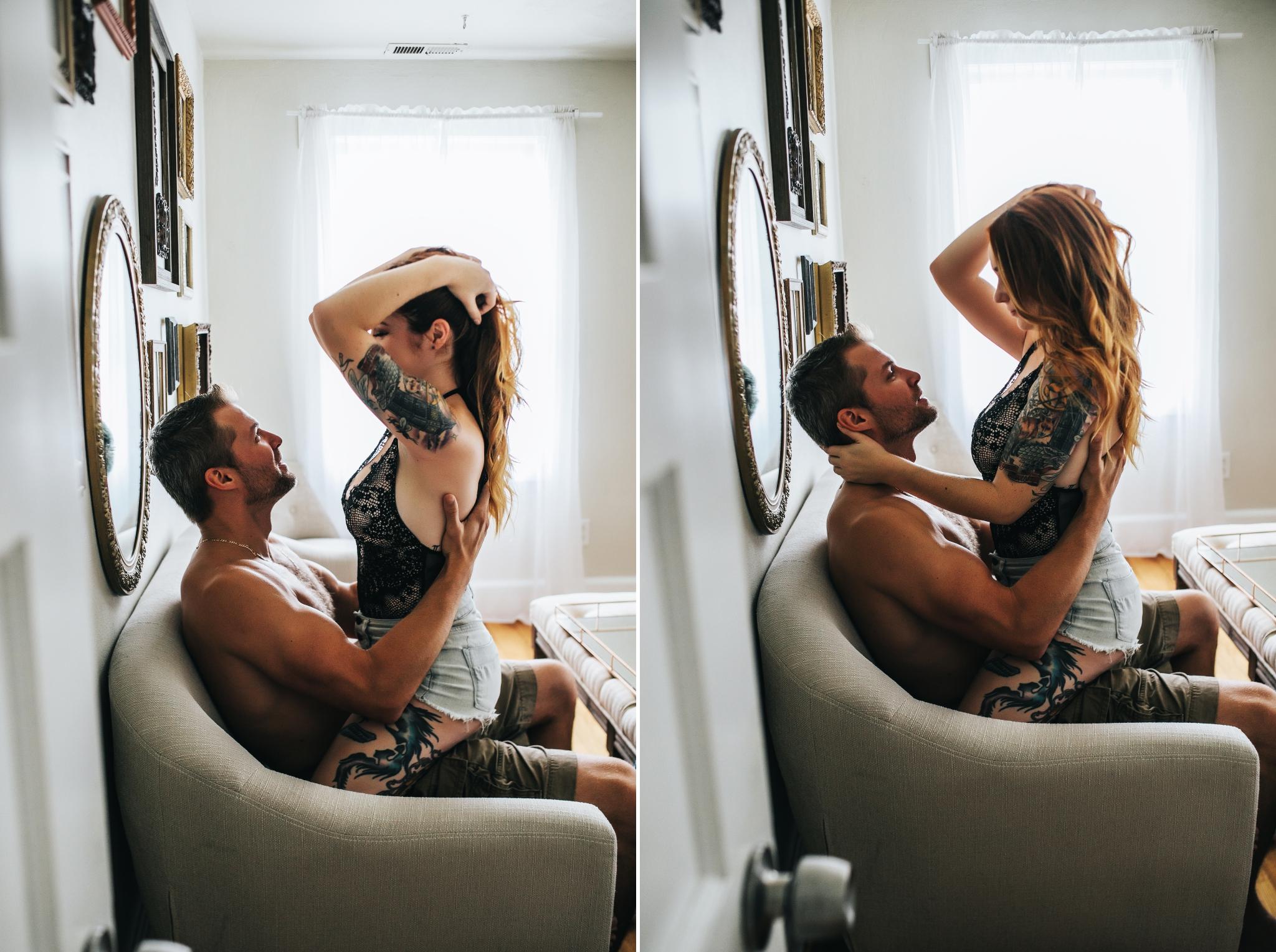 Jacksonville Florida Boudoir Couple Photography