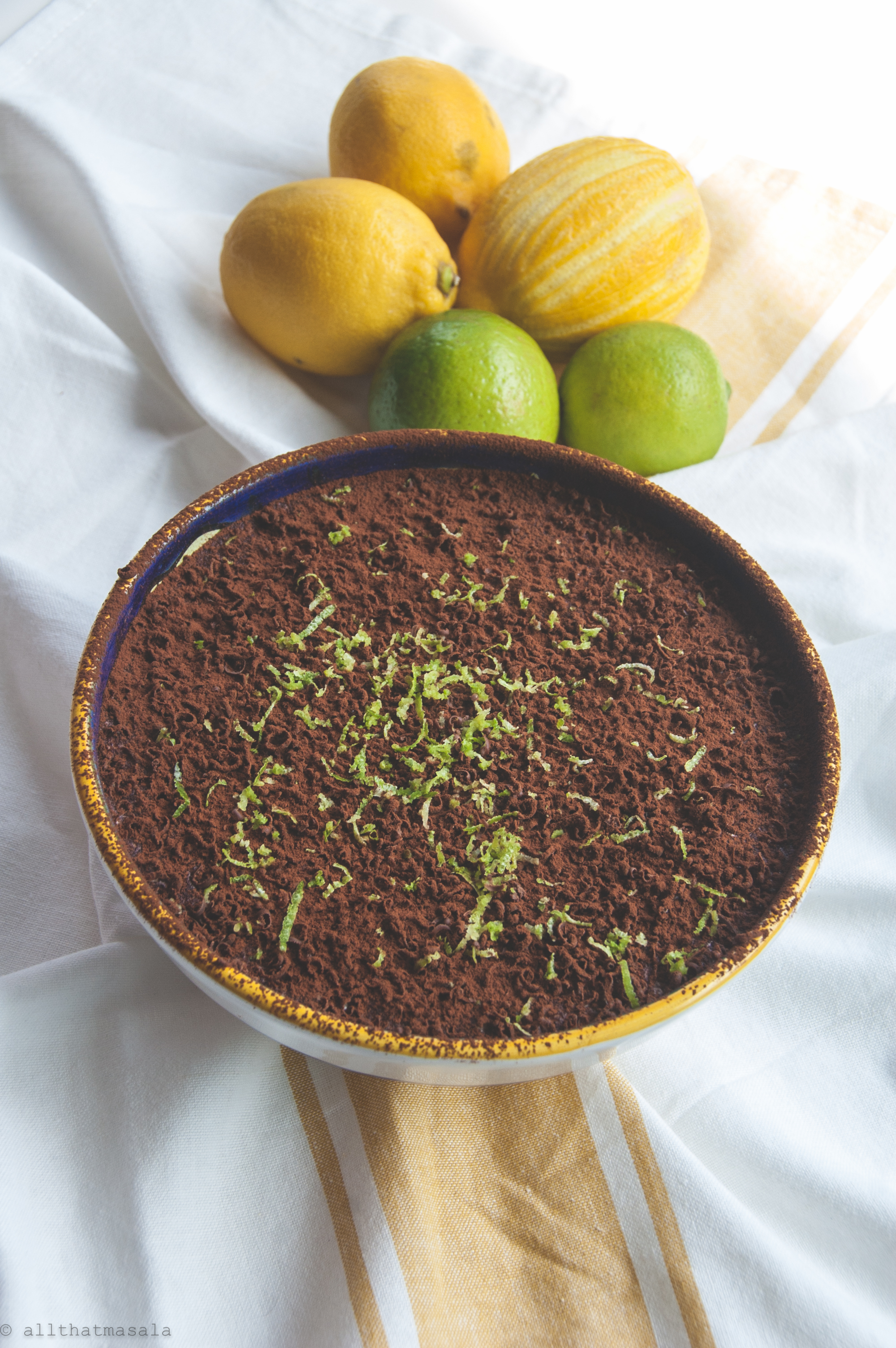Tiramisu al  limone, is a fresh and fragrant Amalfi twist to a classic Venetian dessert. LAdyfingers dipped in lemony syrup and stacked between creamy layers of mascarpone, this is a quick and no-bake dessert recipe that takes a few minutes to whisk together and 3 hours to set.