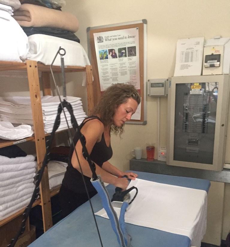 Longtime laundry expert - Claire