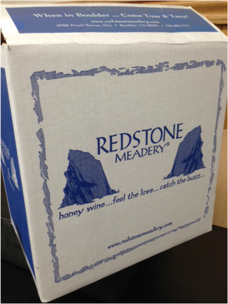 Printed wine boxes shipping cases