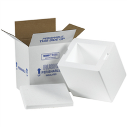 Keep Product Cold and Frozen - Insulated cold frozen shipping boxes for food shipments and medical transport