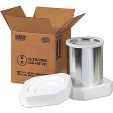 Dangerous goods un shipping boxes