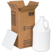 Hazardous materials shippers jugs