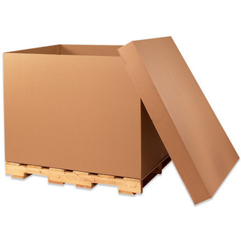 Bulk cargo containers for storage and shipping