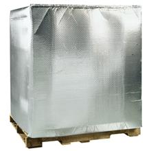 Silver foil pallet covers