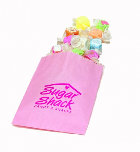 Candy retail store paper bag