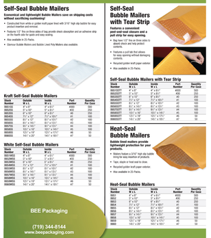 bubble padded envelope mailers.