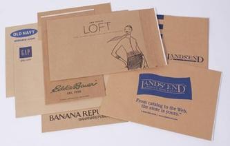 Custom Printed Brown Craft Mailers