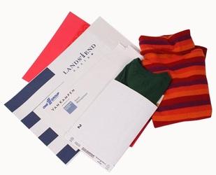 Custom Printed Apparel Mailer/Envelopes
