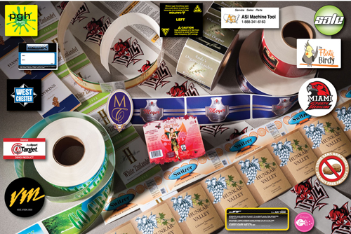 Custom printed paper labels wine food pharmaceutical drug