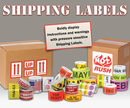 Fragile labels, delicate instruments, glass handle with care, do not stack labels